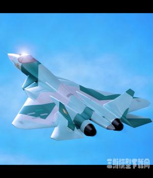 俄罗斯T50战斗机模型下载