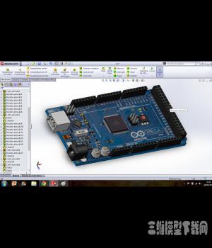 电路板3D模型免费下载