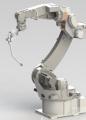 松下TM1400机器人模型