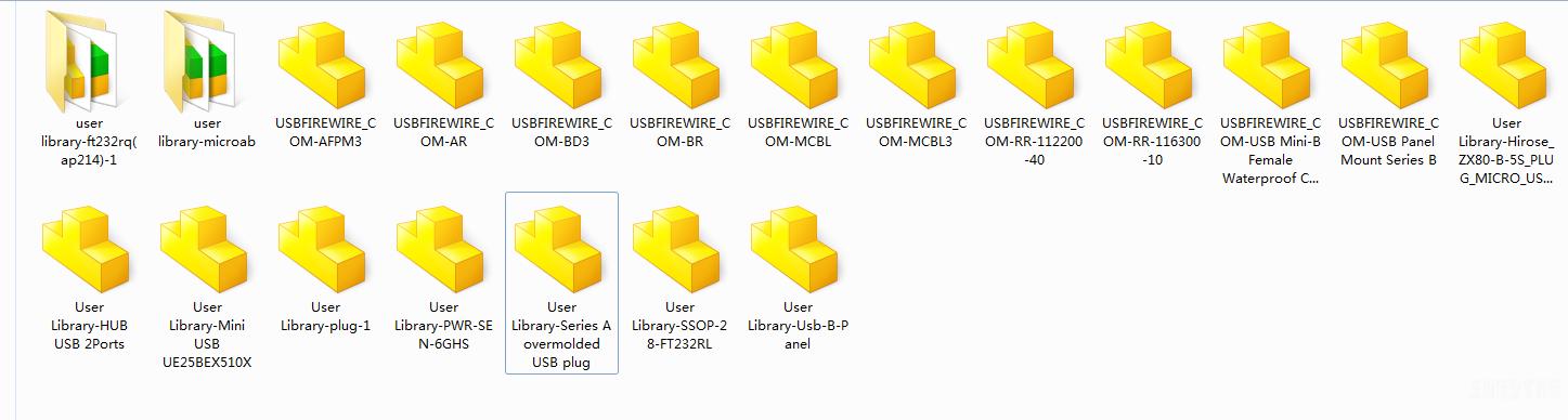 各种USB接头