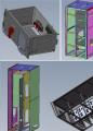 五款MNS机柜钣金设计
