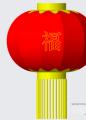 红灯笼模型下载和模型制作教程