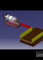 螺旋槽推板机构设计