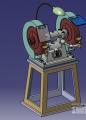 台用打磨砂轮机模型下载