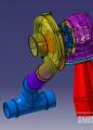 小形涡轮增压器