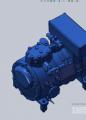 富士豪半封闭往复式单级制冷压缩机A系列
