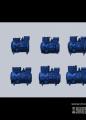 富士豪半封闭往复式单级双缸制冷压缩机