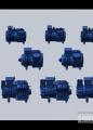 富士豪半封闭往复式单级四缸制冷压缩机