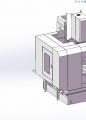大型CNC数控加工中心机床钣金设计