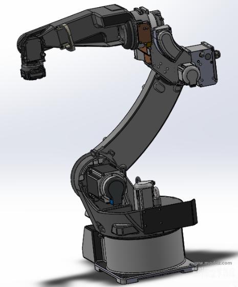 TM-1100G3焊接机器人模型3D图纸 Solidworks设计
